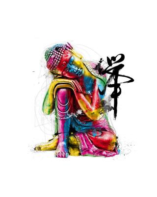 Colorful Buddha - Obrázkek zdarma pro Nokia C2-03