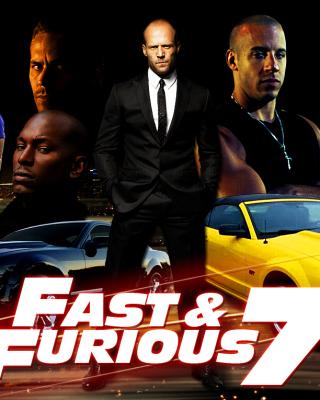 Fast and Furious 7 Movie - Obrázkek zdarma pro Nokia Asha 202