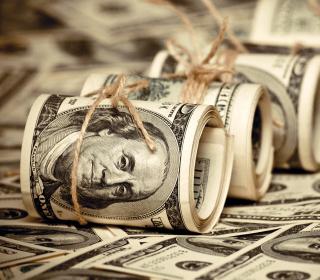 US Dollars - Obrázkek zdarma pro 1024x1024
