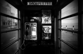 Phone Booth Background for Android, iPhone and iPad