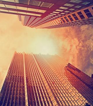 Sunlight On Skyscrapers - Obrázkek zdarma pro 1080x1920