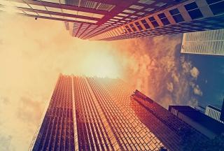Sunlight On Skyscrapers - Obrázkek zdarma pro LG P970 Optimus