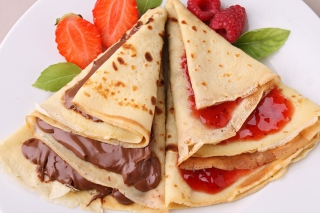 Russian Pancakes Picture for Android, iPhone and iPad