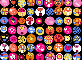 Children Icons Wallpaper for Android, iPhone and iPad