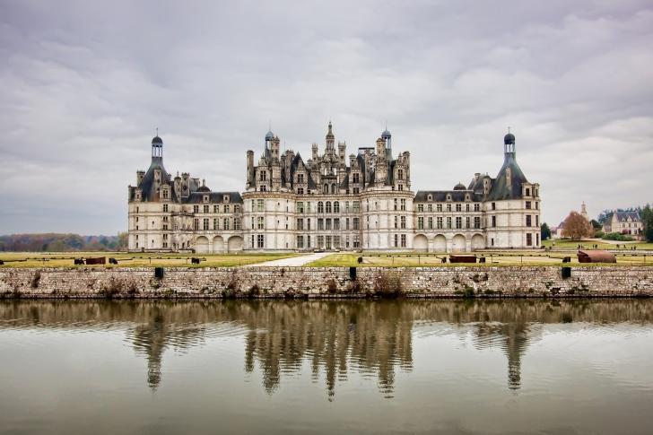 My Pittsburgh Steeler Themed Bugatti Veyron: Chateau De Chambord French Renaissance Castle Wallpaper