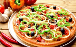 Free Tasty Hot Pizza Picture for Android, iPhone and iPad