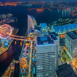 Yokohama City in Tokyo - Obrázkek zdarma pro 128x128