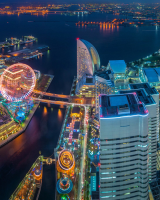 Yokohama City in Tokyo - Obrázkek zdarma pro Nokia Lumia 710