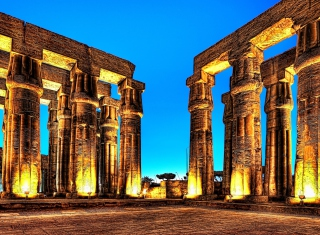 Luxor In Egypt Wallpaper for Android, iPhone and iPad