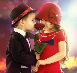 Cute Couple - Obrázkek zdarma pro 1024x1024