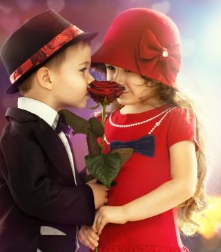 Cute Couple - Obrázkek zdarma pro 352x416