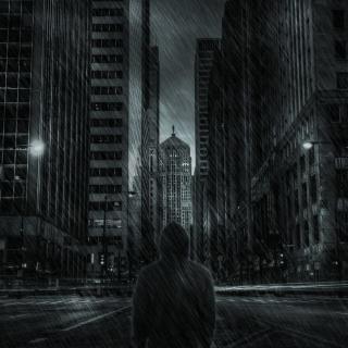 Dark City HD - Obrázkek zdarma pro 1024x1024