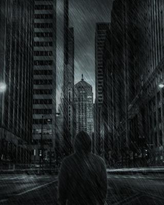 Dark City HD - Obrázkek zdarma pro Nokia Lumia 822