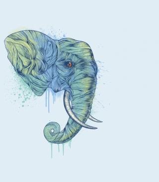 Elephan Head - Obrázkek zdarma pro Nokia C1-01