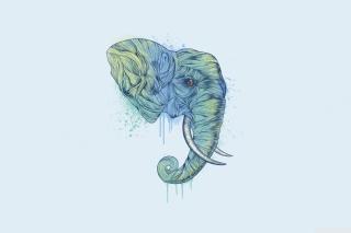 Elephan Head - Obrázkek zdarma pro Samsung Galaxy S4