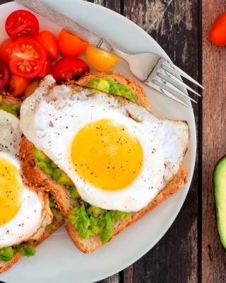Breakfast avocado and fried egg - Obrázkek zdarma pro Nokia Lumia 505