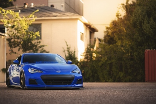Subaru BRZ Background for Android, iPhone and iPad