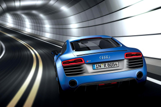 Audi R8 Coupe v10 Background for Android, iPhone and iPad