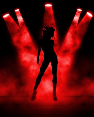 Red Lights Dance - Obrázkek zdarma pro Nokia Asha 300