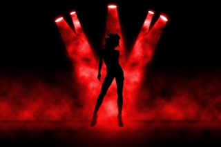 Red Lights Dance Picture for Android, iPhone and iPad