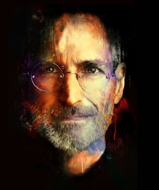 Steve Jobs - Obrázkek zdarma pro Nokia Lumia 900