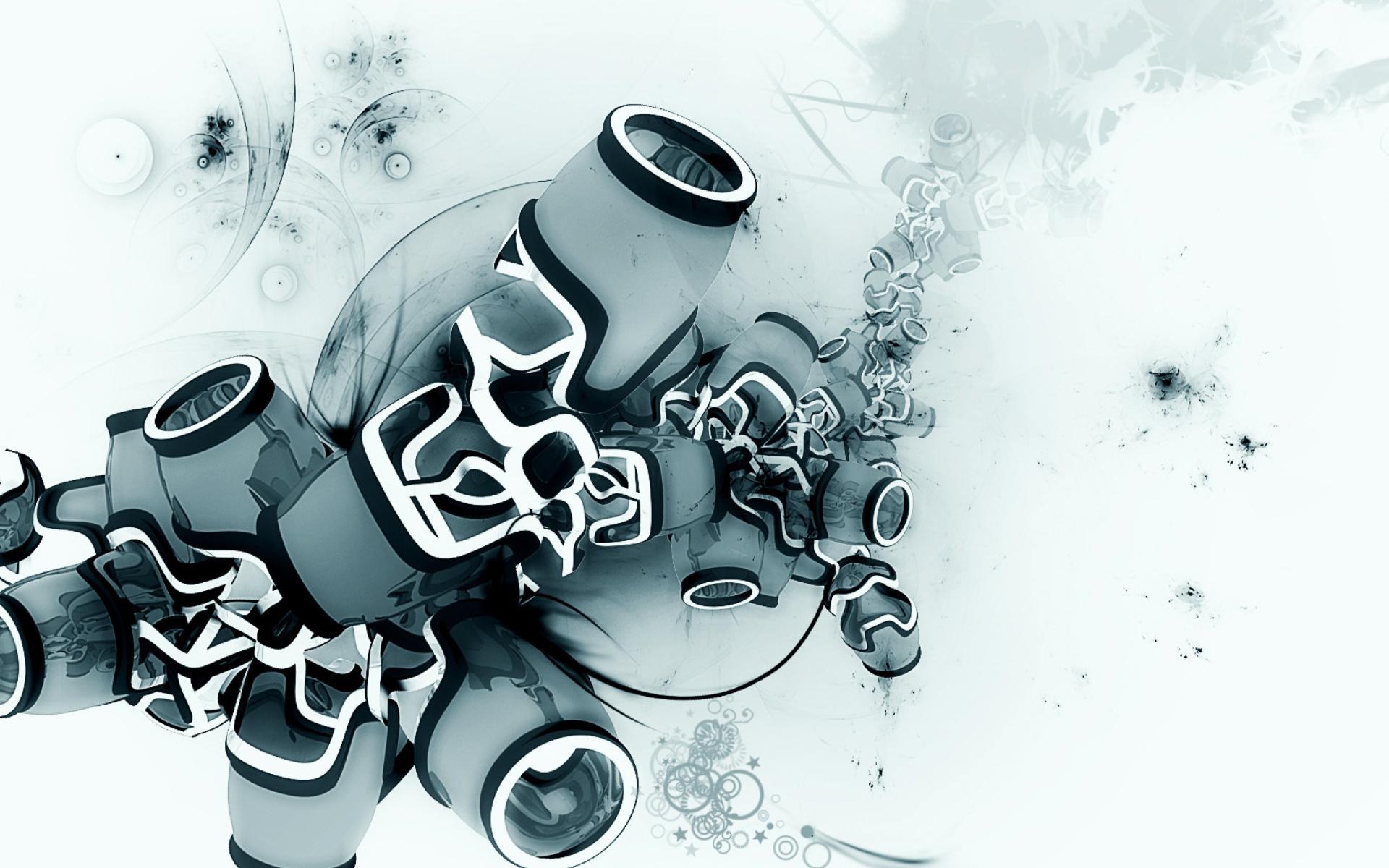 Rendering 3D Model Papel De Parede Para Celular Para