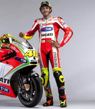Valentino Rossi - Obrázkek zdarma pro 480x640