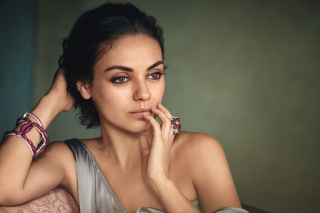 Mila Kunis American actress Wallpaper for Android, iPhone and iPad