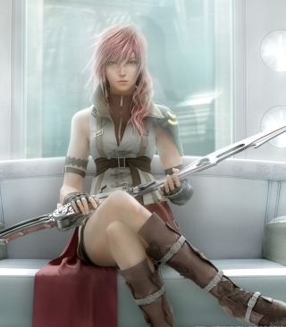 Lightning - Final Fantasy - Obrázkek zdarma pro 240x432