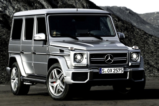 Free Mercedes Benz G class Gelandewagen AMG Picture for Android, iPhone and iPad