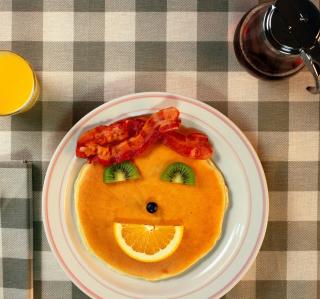 Kids Breakfast - Obrázkek zdarma pro iPad Air