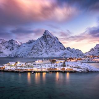 Lofoten Islands - Obrázkek zdarma pro iPad mini 2
