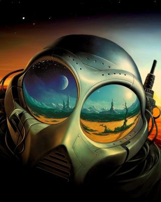 Sci Fi Apocalypse Fiction - Obrázkek zdarma pro Nokia Asha 503