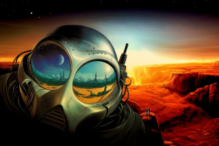 Sci Fi Apocalypse Fiction Background for Android, iPhone and iPad