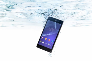 Sony Xperia Z2 Underwater Wallpaper for Android, iPhone and iPad