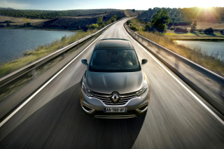 Renault Espace 2015 Background for Android, iPhone and iPad