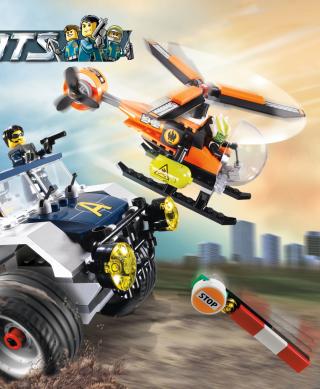 Lego Agents - Obrázkek zdarma pro Nokia Lumia 625