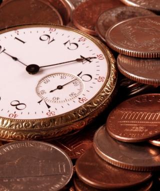 Time Is Money - Obrázkek zdarma pro iPhone 4S