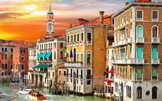 Grand Canal Venice Background for Android, iPhone and iPad