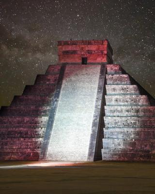 Chichen Itza Pyramid in Mexico - Obrázkek zdarma pro Nokia C-5 5MP