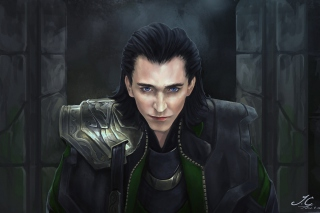 Loki - The Avengers Background for Android, iPhone and iPad