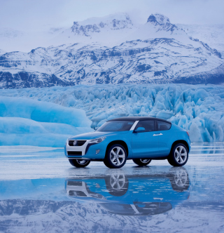 Volkswagen Suv Concept - Obrázkek zdarma pro iPad mini 2