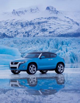 Volkswagen Suv Concept - Obrázkek zdarma pro Nokia X2-02