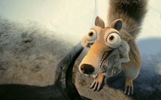 Free Scrat In Love Ice Age Picture for Android, iPhone and iPad