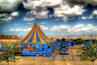 Circus Vargas - Obrázkek zdarma pro LG Optimus M