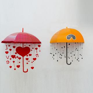 Two umbrellas - Obrázkek zdarma pro 2048x2048