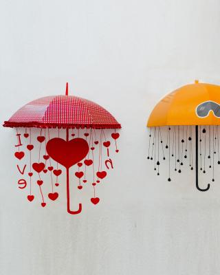 Two umbrellas - Obrázkek zdarma pro Nokia C7