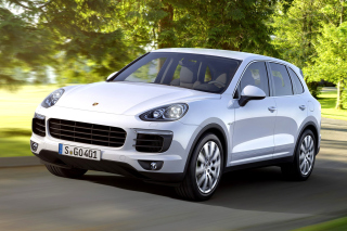 Porsche Cayenne 2015 Background for Android, iPhone and iPad