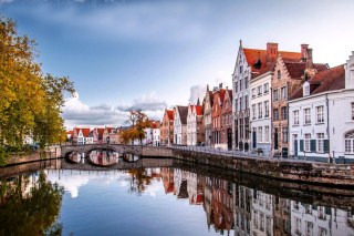 Bruges, Belgium Background for Android, iPhone and iPad
