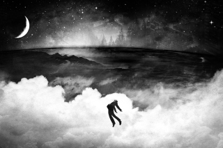 Free Flying Over Clouds In Dream Picture for Android, iPhone and iPad